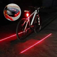 REAR LED BIKE LIGHT WITH LASER