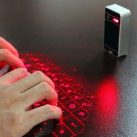 BLUETOOTH LASER KEYBOARD (QWERTY) AND MOUSE FOR MOBILE PHONES AND PC