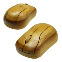 WIRELESS MOUSE BAMBOO, 2.4 GHZ