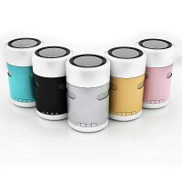 BLUETOOTH SPEAKER WITH TOUCH CONTROL LED LAMP