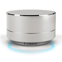 Bluetooth speaker, silver colour (SPE061)