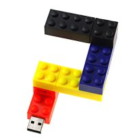 PLASTIC USB FLASH DRIVE LEGO
