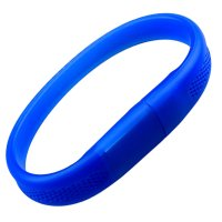 USB FLASH DRIVE SILICONE BRACELET