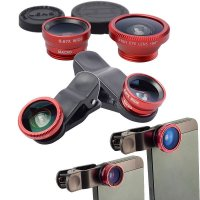 FISH EYE AND SET OF CONVERTOR LENSES FOR MOBILE PHONES