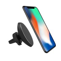 CAR MOBILE PHONE MAGNETIC HOLDER WITH QI INDUCTION (WIRELESS) CHARGING