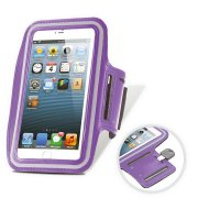 SPORTS ARMBAND CASE FOR MOBILE PHONE WITH REFLECTIVE FEATURES