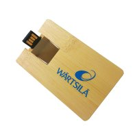 USB FLASH DRIVE WOOD CARD