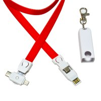 4-IN-1 LANYARD USB POWER CABLE