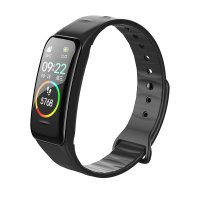 FITNESS BAND WITH PULSE AND BLOOD PRESSURE METER