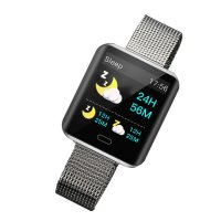 SMART WATCH WITH PULSE AND BLOOD PRESSURE METER