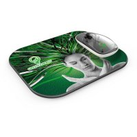 SET OF WIRELESS MOUSE PAD AND WIRELESS MOUSE WITH WIRELESS CHARGING FUNCTION