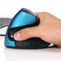 WIRELESS 2.4 GHZ VERTICAL MOUSE WITH BUILT-IN BATTERY