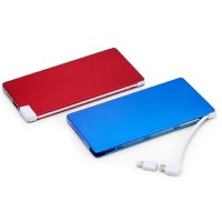 POWER BANK NAME CARD WALLET, 4000 mAh WITH FLASH MEMORY