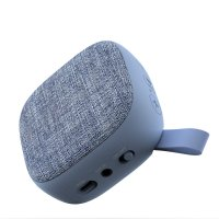 Bluetooth speaker with fabric, blue colour (SPE2089)