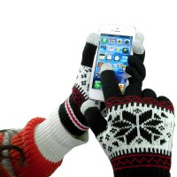 WINTER GLOVES FOR TOUCHSCREENS – JACQUARD