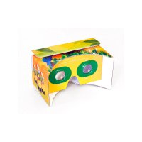 CARDBOARD 3D VIRTUAL GLASSES WITH FULL SURFACE CMYK PRINTING