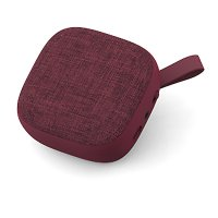 Bluetooth speaker with fabric, wine red colour (SPE2089)