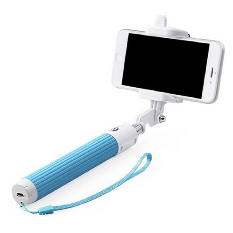 mini selfie stick monopod with bluetooth shutter release unique gifts and. Black Bedroom Furniture Sets. Home Design Ideas