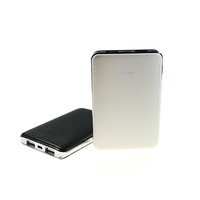 LUXURY DUAL POWER BANK (PORTABLE CHARGER) IN IMITATION LEATHER 4000/5000/6000 mAh