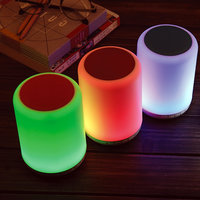 BLUETOOTH SPEAKER AND LED LAMP WITH OPTIONAL MODES AND LIGHT COLOURS